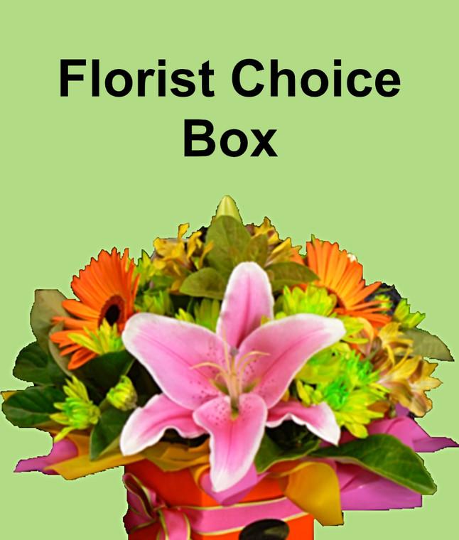 Florist Choice Box Arrangement