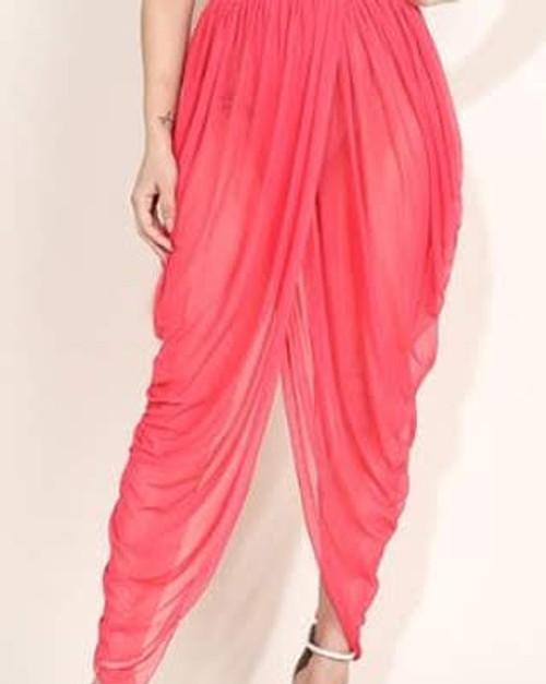 Draped Mesh skirt