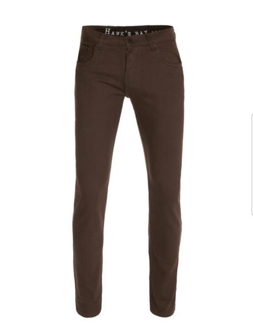 Brown Slim Fit Jeans