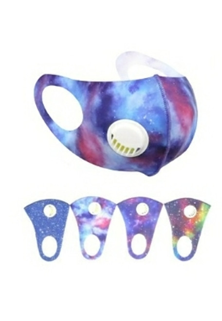 Colorful Dust Proof Face Mask with Respirator