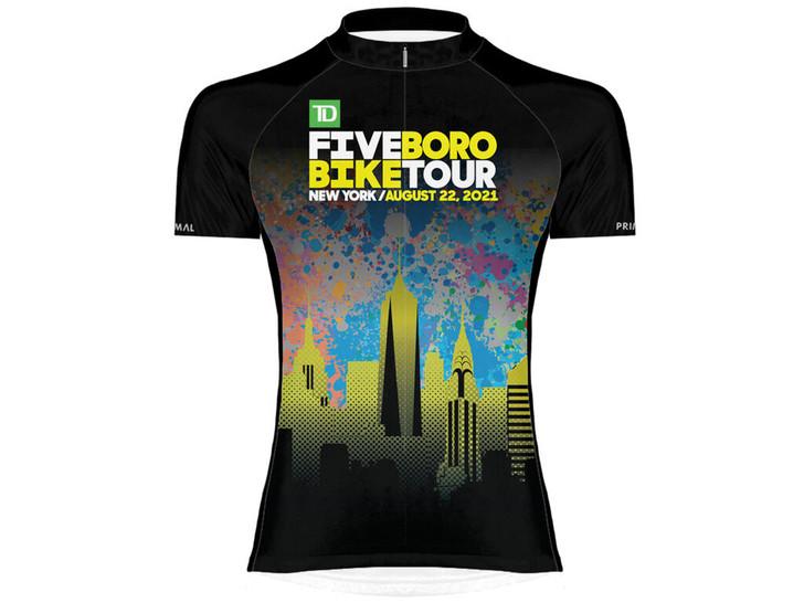 Bike NYC 2021 TD Five Boro Bike Tour Women's Jersey