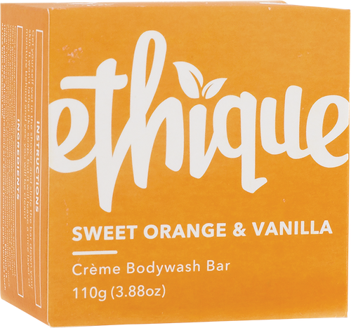 ETHIQUE Solid Crème Bodywash Bar Sweet Orange & Vanilla