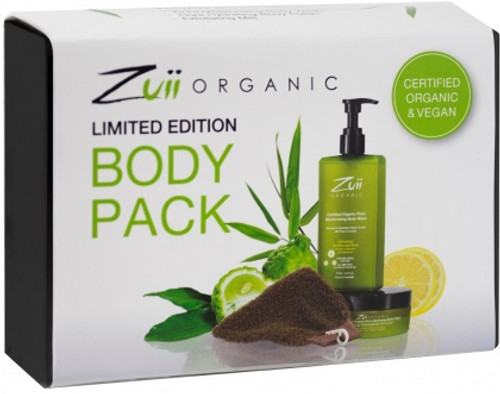 Zuii Organic Cosmetics Organic Limited Edition Body Pack