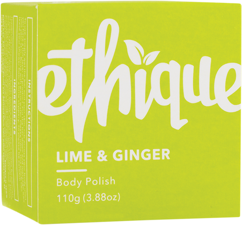 ETHIQUE Solid Body Polish Bar Lime & Ginger