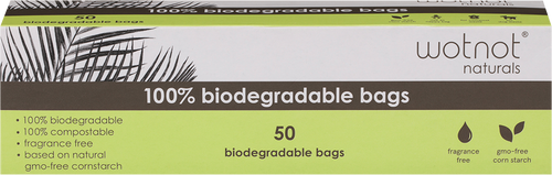 WOTNOT Biodegradable Nappy Bags 100% Compostable