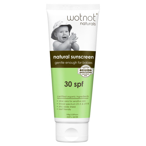 WOTNOT Sunscreen - Suitable For 3 Months + Spf 30+