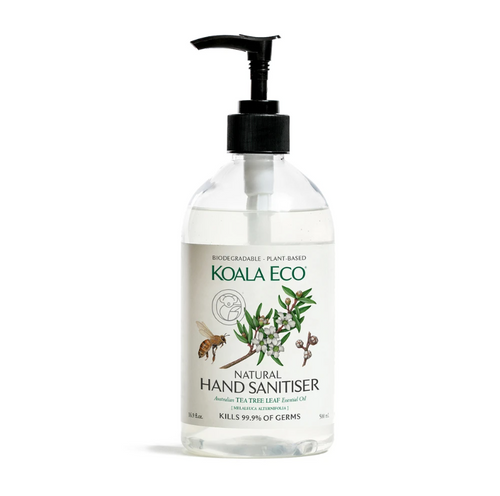 KOALA ECO Natural Hand Sanitiser Tea Tree Leaf Essential Oil