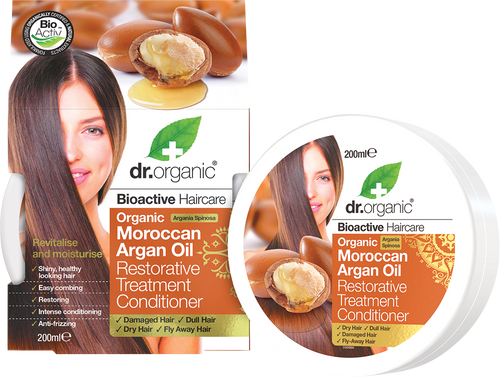 DR ORGANIC Conditioner Restorative Organic Moroccan Argan Oil