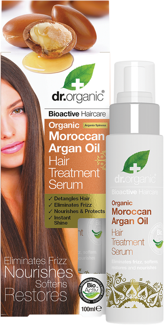 DR ORGANIC Hair Treatment Serum Organic Moroccan Argan Oil