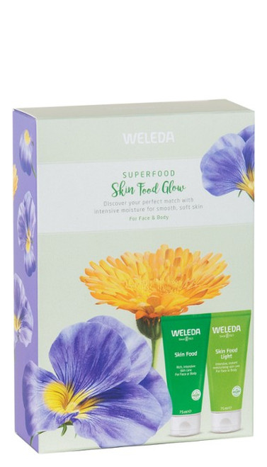 WELEDA Superfood Skin Food Glow Pack Skin Food & Skin Food Light