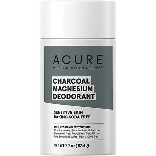 ACURE Deodorant Stick - Baking Soda Free Charcoal Magnesium