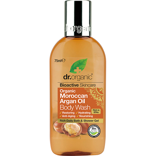DR ORGANIC Body Wash (mini) Organic Moroccan Argan Oil