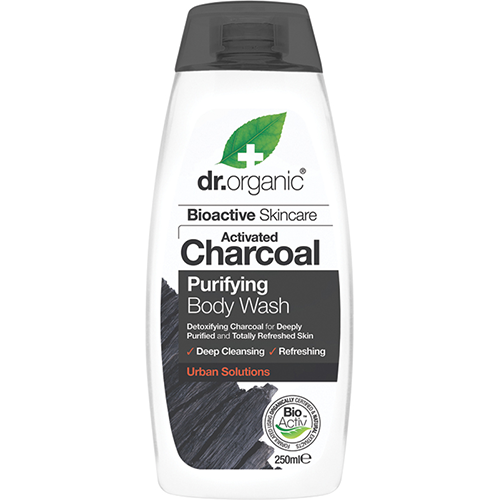 DR ORGANIC Body Wash Activated Charcoal