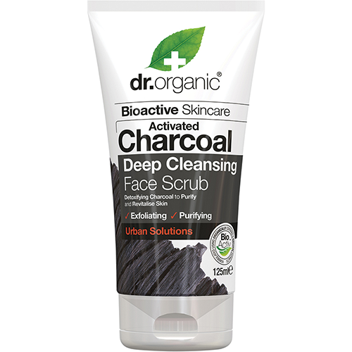 DR ORGANIC Face Scrub Activated Charcoal