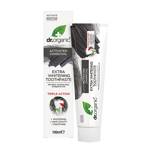 DR ORGANIC Toothpaste (whitening) Activated Charcoal