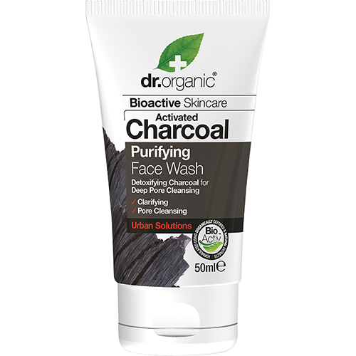 DR ORGANIC Face Wash (mini) Activated Charcoal