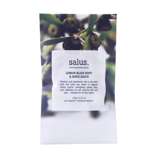 salus Lemon Bliss Buff & Bath Salts