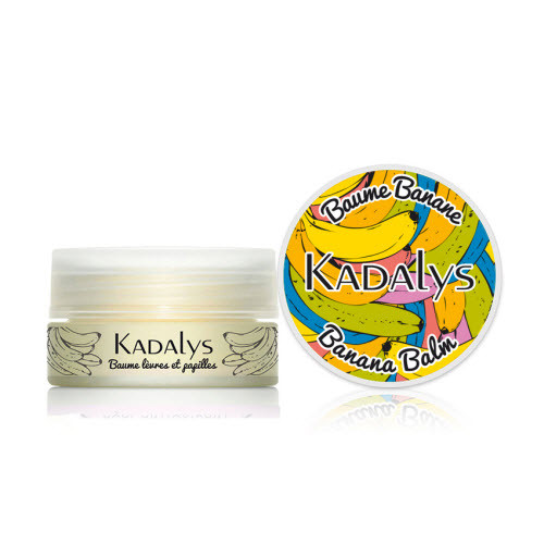 Kadalys Banana Lip Balm with Yellow Banana