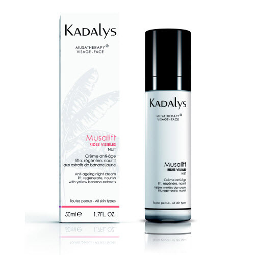 Kadalys Musalift Visible Wrinkles - Organic Night Cream Yellow Banana