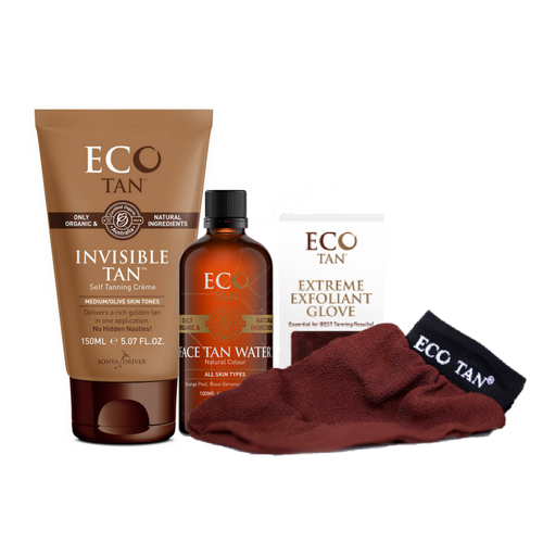 Eco Tan Glow Pack - FREE Exfoliant Glove