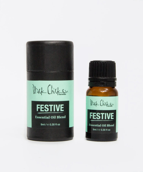 Black Chicken Remedies Essential Oil Blend - Festive