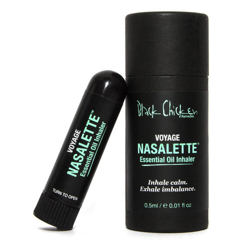 Black Chicken Remedies Nasalette Essential Oil Inhaler - Voyage