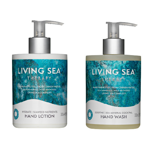 Living Sea Therapy Hand Wash and Lotion Bundle