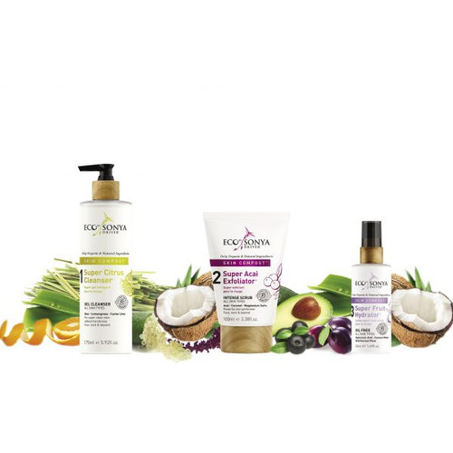 Eco by Sonya Driver Skin Compost 3 Step Skincare System