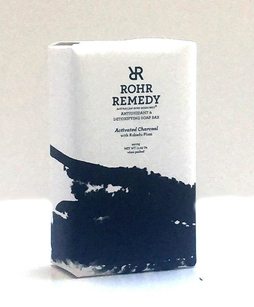 Rohr Remedy Charcoal with Kakadu plum oil Soap