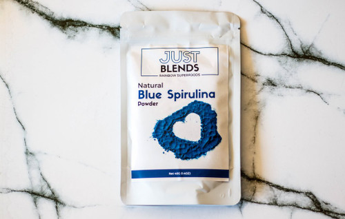 Just Blends Blue Spirulina