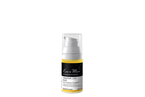 Less Is More Tangerine Curl Balm Travel Size 30ml