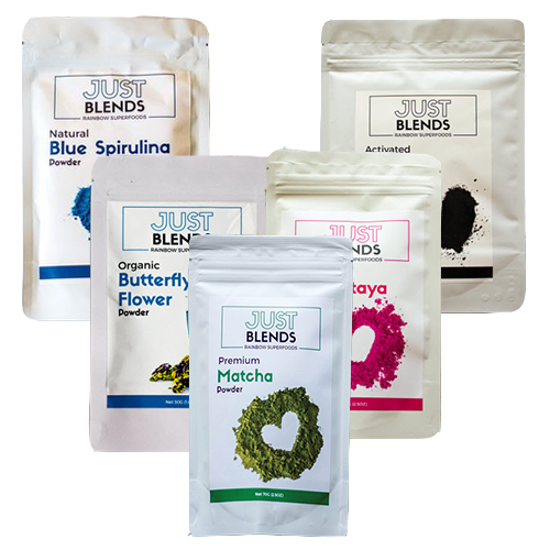 Just Blends Complete Bundle With FREE eco stainless straws