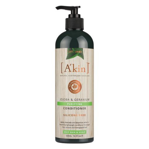 A'kin Purifying Jojoba & Geranium Conditioner