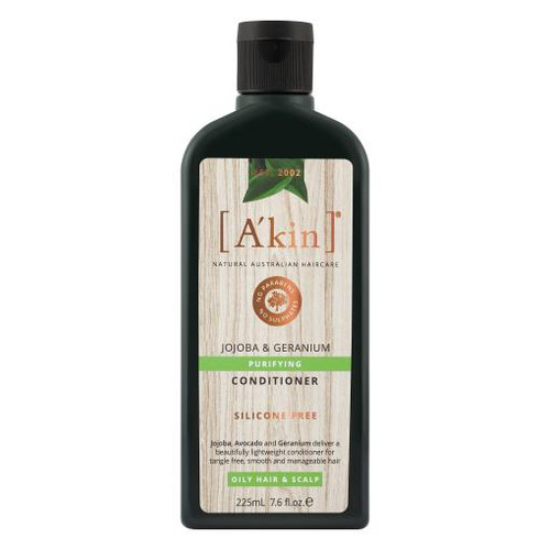 A'kin Purifying Jojoba & Geranium Conditioner 225mL