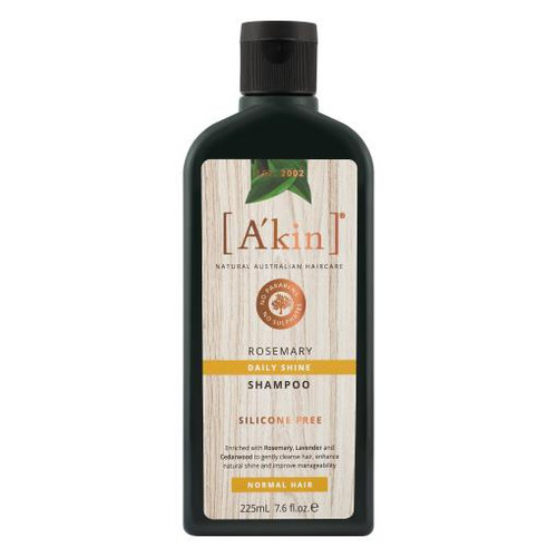 A'kin Daily Shine Rosemary Shampoo 225mL