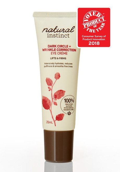 Natural Instinct Dark Circle + Wrinkle Correction Eye Crème
