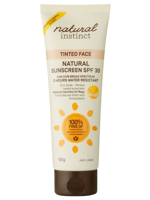 Natural Instinct Tinted Face Natural Sunscreen