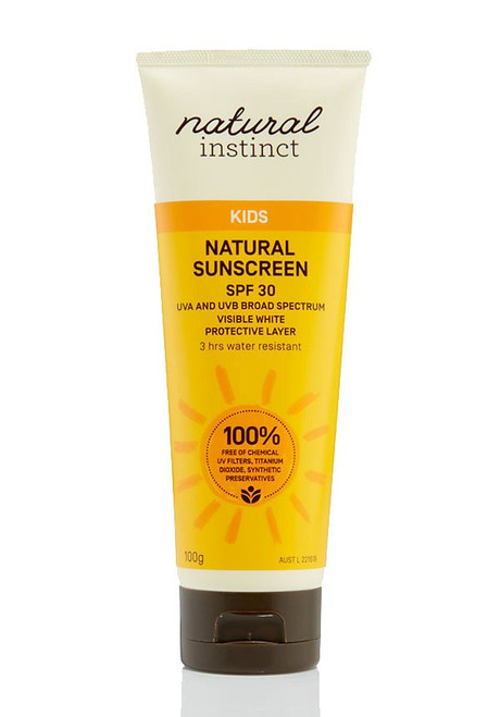 Natural Instinct Natural Kids Sunscreen