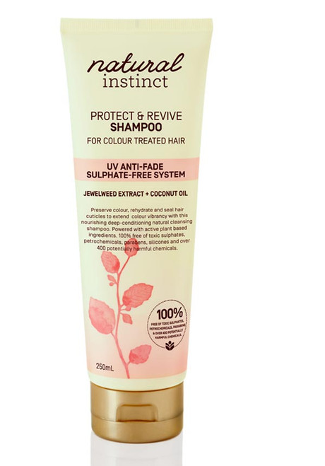 Natural Instinct Protect & Revive Coloured Shampoo