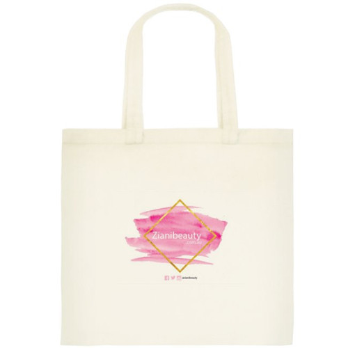 Ziani Beauty Calico Shopping Tote - Small