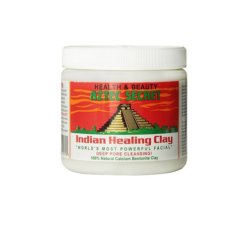 Aztec Secret Indian Healing Clay 100% Natural Calcium Bentonite Clay - Facial Clay (Various Sizes)