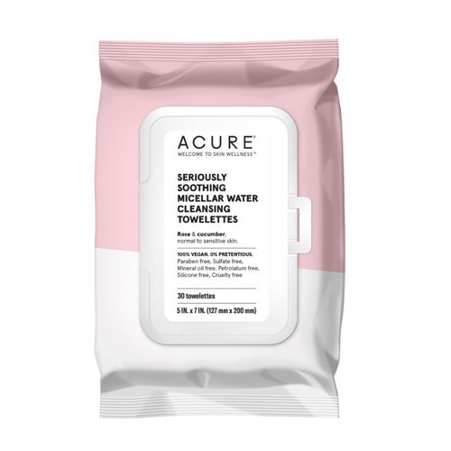ACURE Seriously Soothing Micellar Water Towelettes