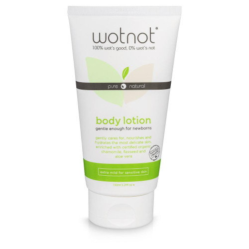 WOTNOT 100% Natural & Organic Baby Lotion 150mL