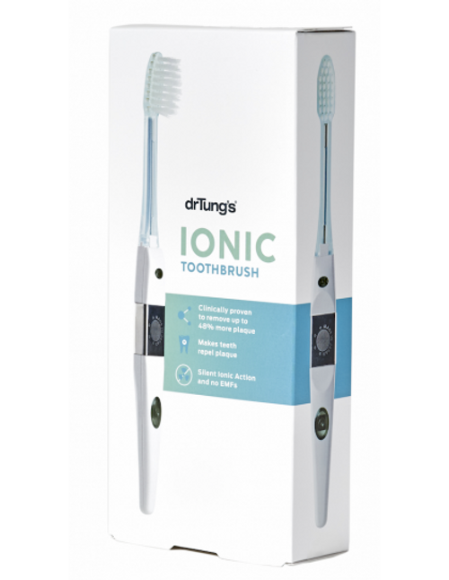 DR TUNG'S Ionic Toothbrush (soft) Includes 1 Replacement Head