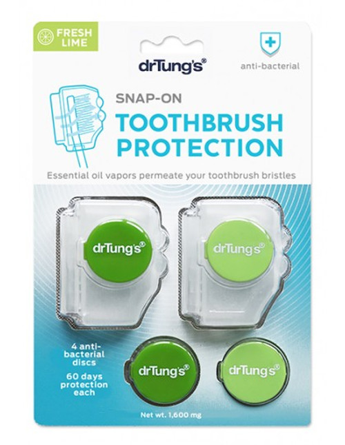 DR TUNG'S Toothbrush Protection Includes 2 Refills