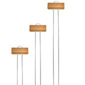 E Series Copper Garden Markers
