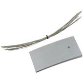 K Series Zinc Tie-On Labels