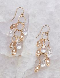 Elkington Earrings, Gold