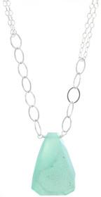 Delhi Necklace- Aqua