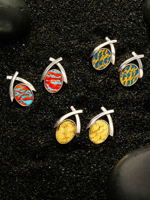 Norwegian Sea Earrings